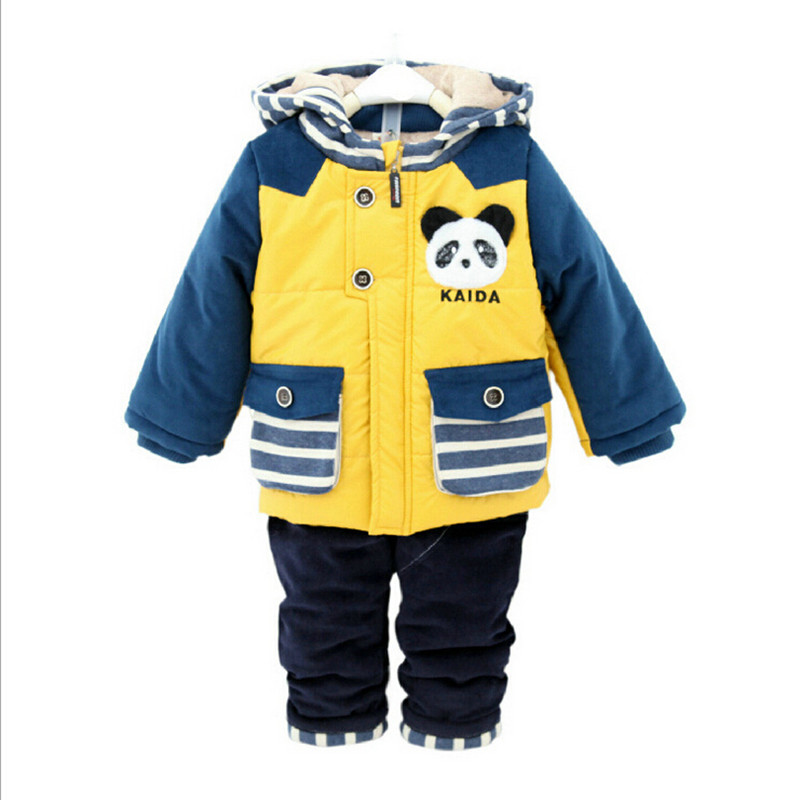 0-3 years old baby winter sets children sets infant winter clothing toddler boy suits baby vetements enfant cheap-clothes-china