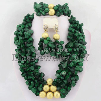 African Coral Beads Jewelry Sets Nigerian Wedding African Bridal Jewelry Set Free Shipping     HD0509