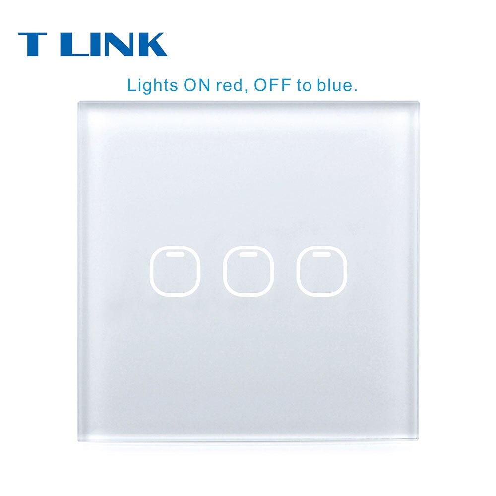 Interruptores e Relés 3 gang 1 vias interruptor Marca : Tlink