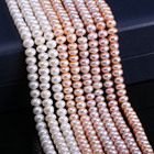 Natural Freshwater Pearls Beads High Quality 38 cm Punch Loose Beads for Jewelry Making DIY Women Necklace Bracelet 5-6 mm