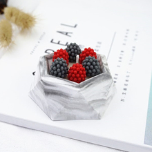 Handmade Geometric Flower Pot Silicone Mold Succulent Planter Vase Craft DIY Soap Candle Making Tools Molds Mould Accessories