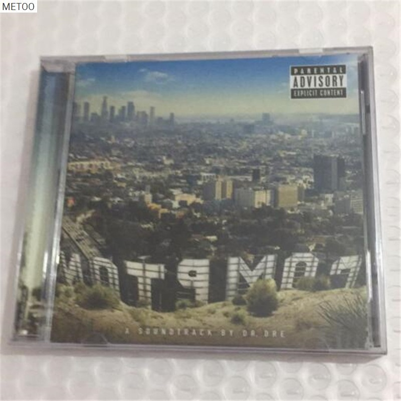 Metoo - Dr.dre Compton Eminem 2015 Cd Box [free Shipping] New Reliable Performance