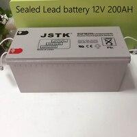 12V 200AH Sealed Lead Battery Maintenance Free 12V Storage Battery Solar System 12V 200AH Battery