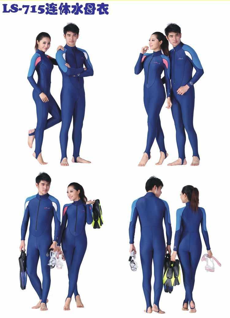 De beste verkoop! Micofeel verkoopt nylon spandex upf50 + 4XL mannen wetsuit kwallen beschermen duiken pak lange surf marine nat pak