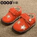 J.g чен мальчик обувь первые ходоки Star с кристалл коровьи мышцы нижний малышей обувь для маленьких мальчики-младенцы 0-1Y