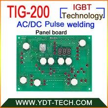TIG-200 AC/DC Импульсная tig сварочные платы для станков наборы с IGBT контроллер(панель доска+ плата управления