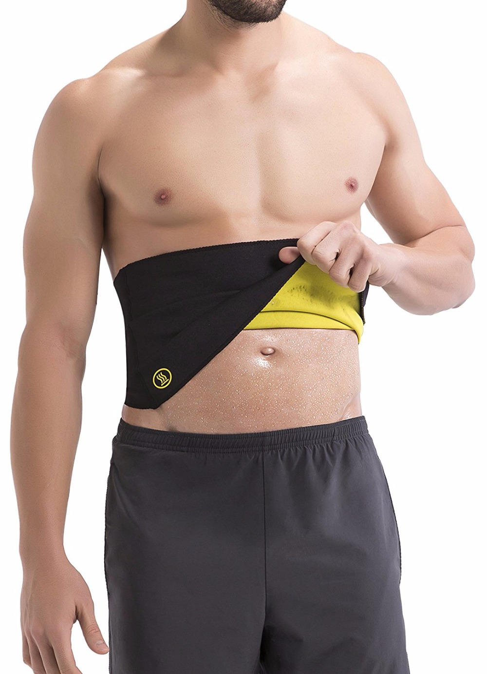 Hot Shapers Thermal Hot Belt For Men Slimming Compression And Calorie Burning Activewear Free Shipping