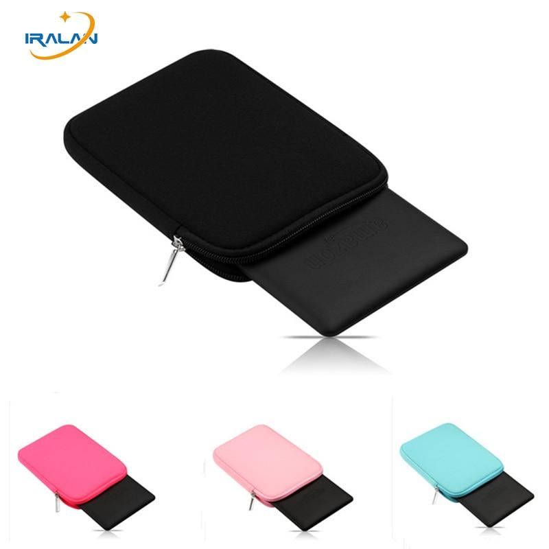 Zipper sponge soft Tablet Liner Sleeve Pouch Bag for Apple iPad air2/ipad 6 Cover for ipad pro 9.7/new ipad 9.7 inch+Stylus Pen fashionable handbag style protective polyester sponge pouch bag for ipad red
