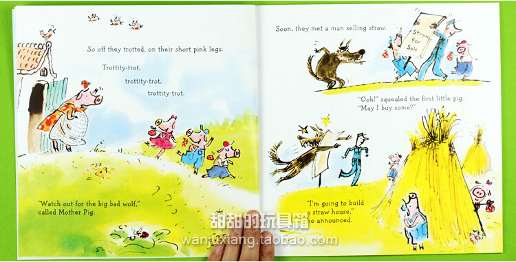 The three little pigs short story