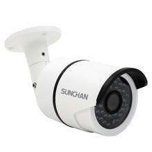 SunChan High Quality AHD Camera Color CMOS 1500TVL 1.3MP 36 IR LED Night Vision Waterproof Camera Outdoor CCTV Camera w/Bracket