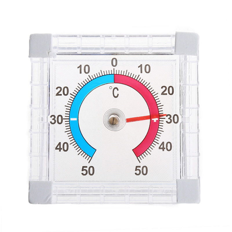 цена на OOTDTY High Quality Window Wall Thermometer Temperature Indoor Outdoor Wall Greenhouse Office Garden Home Thermometer