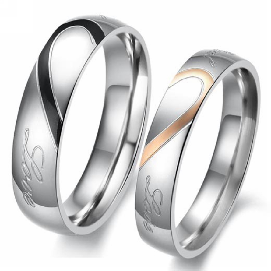 Popular Matching Promise Rings for Couples-Buy Cheap Matching ...