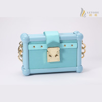 Women handbags mini leather clutch Bag black light blue pink shoulder bags messenger bags brand fashion bolsas femininas 8268-2