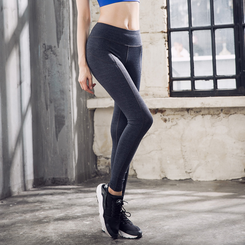 Elastic Tights Sexy Yoga Pants Women High Waist Quick Dry Slim Running Tights Jogging Women Yoga Compression Pants
