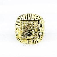 2001 ARIZONA DIAMONDBACKS Major League Baseball 3D Design High Quality Replica Championship Ring STR0 504