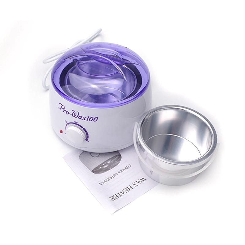 Rechargeable Warmer Wax Heater Device Mini SPA Hand Epilator Feet Paraffin Wax Heater Machine Bock Depilatory Health Care Tool