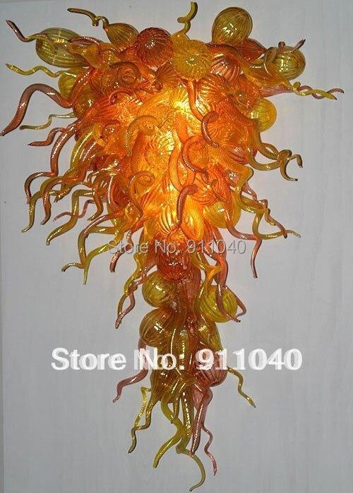 Online Get Cheap Yellow Chandelier Shades Aliexpress – Orange Chandelier Shades