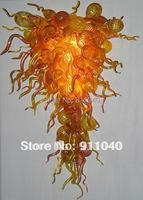 LR277 Free Shipping Golden Lamp Murano Glass Chandelier Shade