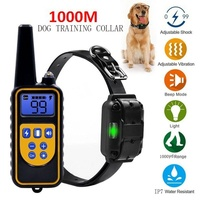 OLN 800 metre anti barking and anti barking device dog trainer ultrasonic anti barking pet electric shock dog neck collar