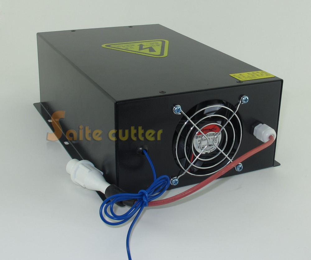 80W 100W High Voltage Laser Power Supply CO2 Sealed Laser Tube Engraver Cutter