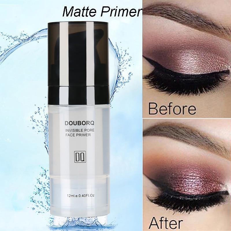 Makijaż baza pod podkład do twarzy naturalny matowy makijaż fundacja podkład pory niewidoczny przedłużyć olejek do twarzy kontrola kosmetyk 6