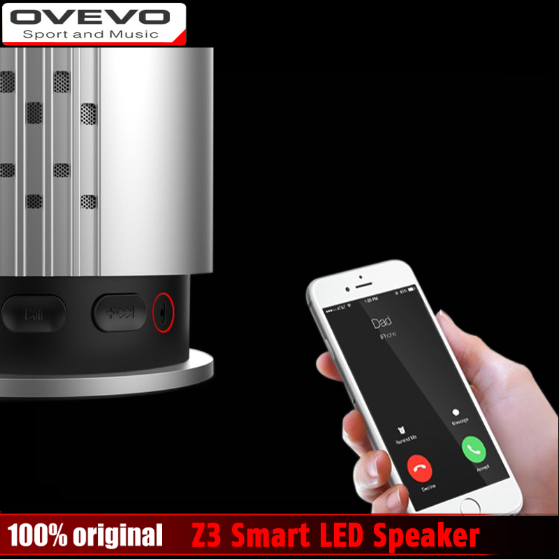 NEW OVEVO Z3 Melody Bluetooth 4 0 Mini Light Smart Focus LED Speaker Light Intelligent LED