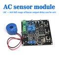 Бесплатная доставка, AC 0-50A AC current sensor to detect the full range of linear выходной задержки может быть установлено