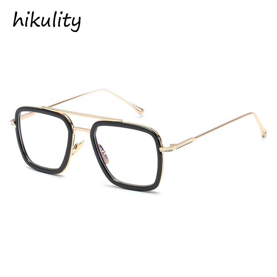 6e67d5eb5a ... Avengers Infinity War Tony Stark Sunglasses Luxury Brand Iron Man  Glasses Rectangle Vintage Superhero Sun Glasses