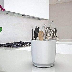 Image 5 - Вращающийся держатель для посуды Caddy со съемным разделителем и захватываемой вставкой без наконечников