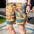 New Arrival 2017 Shorts Men  Shorts Summer Beach Leisure Shorts For Men 9 Color Plus Size 4XL 5XL