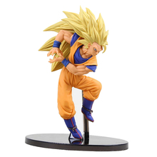 15CM Catoon Dragon Ball Z Super Saiyan Son Goku Gokou Fighting PVC Action Figure Toy Dragon Ball Z figures