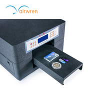 Reliable quality a4 size uv embossed card printer with high precision printing machine