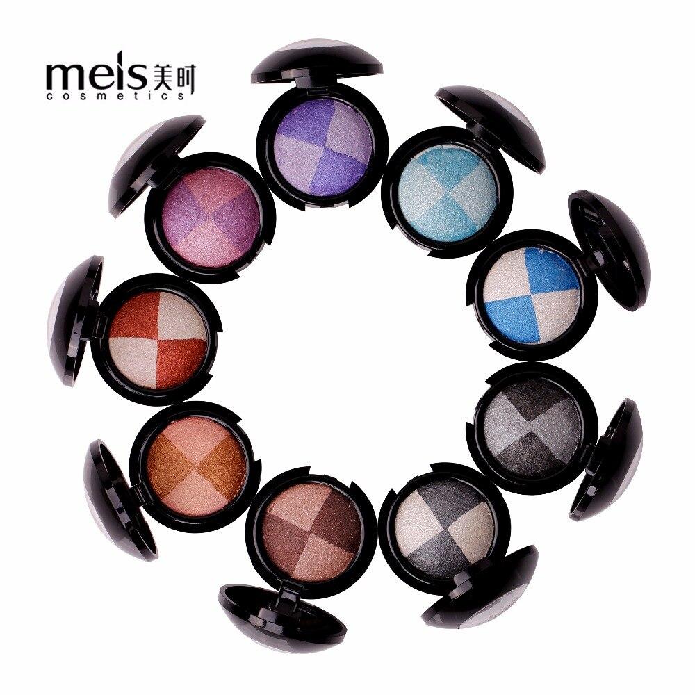 MEIS márka smink kozmetika professzionális smink 2 szín szemhéjfesték szemhéjfesték paletta matt szemhéjfesték szem árnyék palettája MS0118