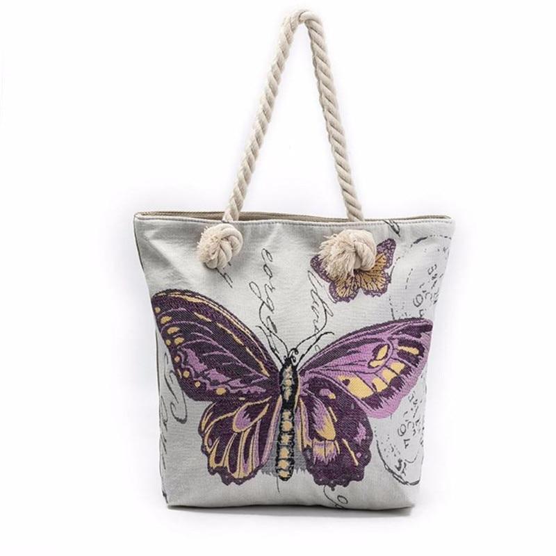 Butterfly Women Shoulder Bag Large Capacity Totes Bags Handbags Shopping women bag bolsa feminina designer handbags Luckys