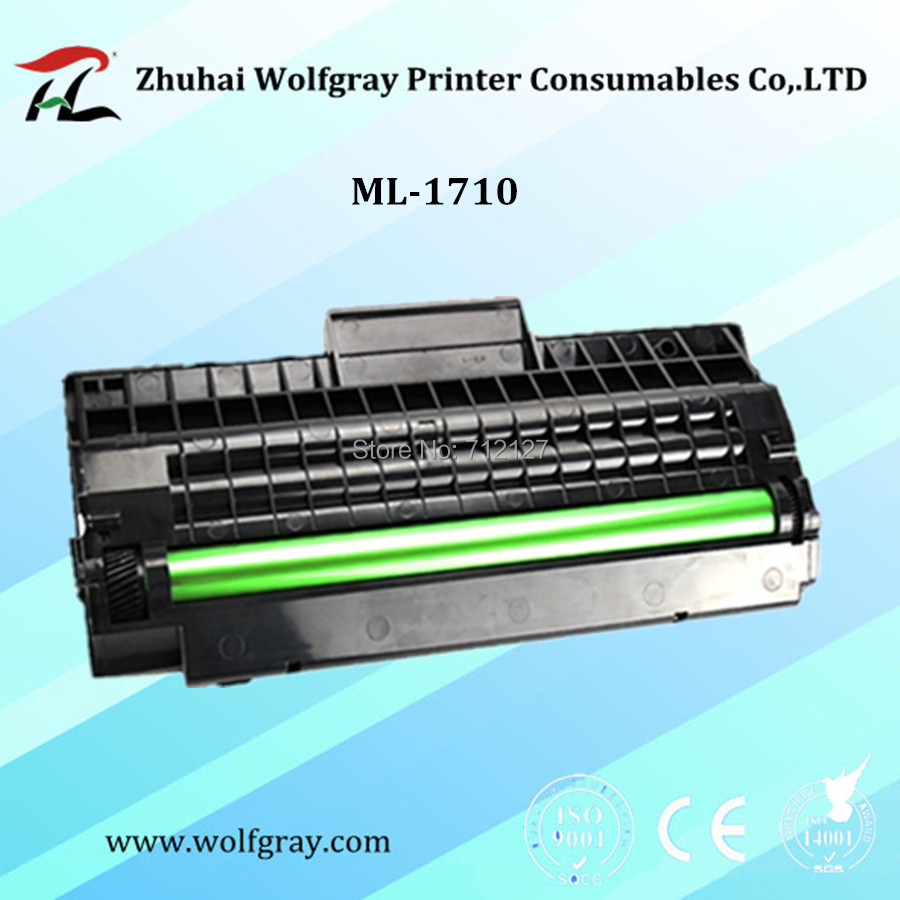 YI LE CAI Compatible For Samsung ML-1710 ML1710 Toner Cartridge ML-700/1510/1520 1710P/1740/1750/1755;SCX-4016 4116 4216