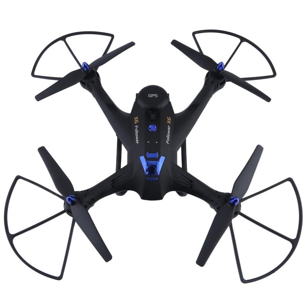 X183 Wifi Drone Avec 2MP HD Caméra professionnel 6-Essieux RC Quadcopter Portable GPS Compact Photographie Vidéo Dispositif Dron garçon Jouet