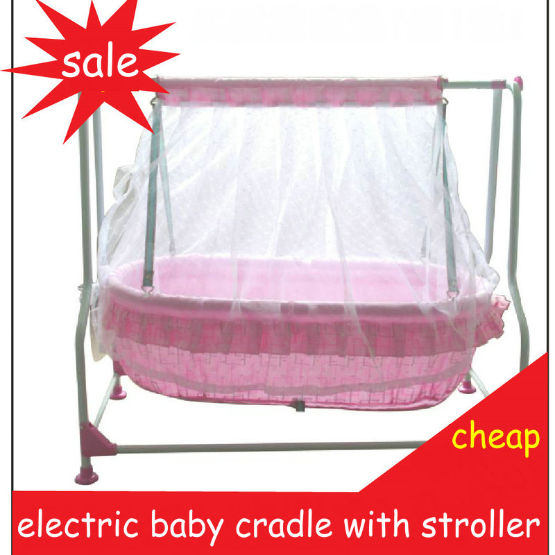 Baby Electric steel frame Cradle Baby Music Bed baby Swing Bed ...
