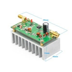 Image 4 - Aiyima 7 واط FM الطاقة Amplefier HF مكبر للصوت مجلس 65 110 ميجا هرتز الإدخال 1 ميجا واط مع بالوعة الحرارة