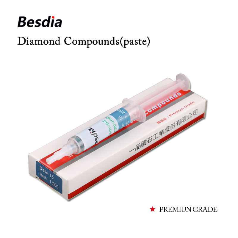 Купить с кэшбэком Taiwan Besdia Diamond Compound Paste Polishing Lapping Premiun Grade