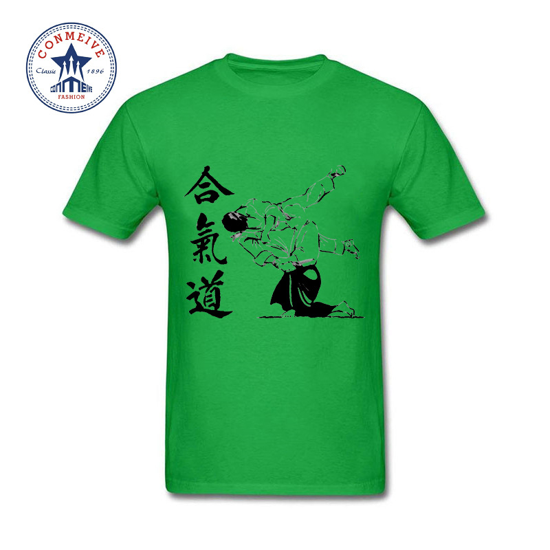 HTB1jEFcXLBNTKJjSszbq6yFrFXaV - t shirt aikido 2017 Teenage Youth Funny Cotton for men