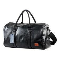 Travel Leather Bag For Gym Crossbody Bags For Women 2018 Fitness PU Waterproof Gym Sport Bag Outdoor Training Storage Handbag