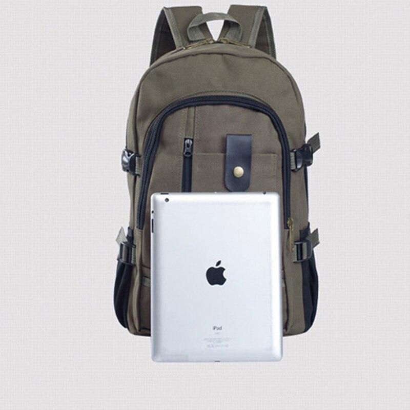 Men Backpack male Fashion School Bags backpacks for teenage Canvas bag student backpacks travel casual Rucksacks High Quality