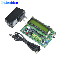 1 Set LCD1602 Display 5MHz DDS Function Generator Source Module Signal Sine Triangle Square Wave TTL Output C Hot Sale