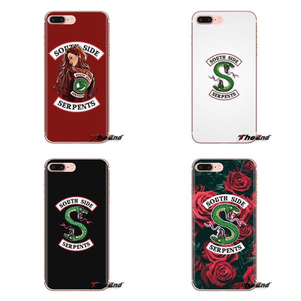 Tv riverdale cheryl blossom Transparante Soft Shell Covers Voor iPod Touch Apple iPhone 4 4 S 5 5 S SE 5C 6 6 S 7 8 X XR XS Plus MAX