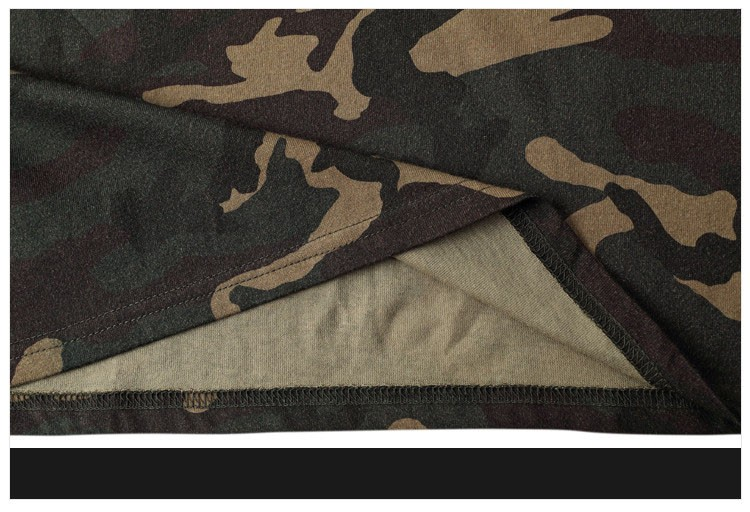 Camo T shirt Hip Hop tee 2016 Fashion Mens Military Camouflage Short Sleeved tshirt O-Neck Kanye West Tops Streetwear colothing (12)