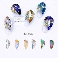 10 pcs Couleur cristal pour ongles Décoration d'ongles Bella Risse https://bellarissecoiffure.ch