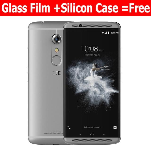 "Oryginalny ZTE Axon 7 4G 64G 4G LTE mobilny telefon Snapdragon 820 Quad Core 5.5 ""2 K 2560X1440 20.0MP Fingerpeint NFC"