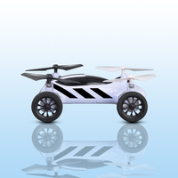 FPV Air Road Double Mode RC Flying Car with WiFI Camera 2.4G 4CH Headless Mode 360 Degree For Gift