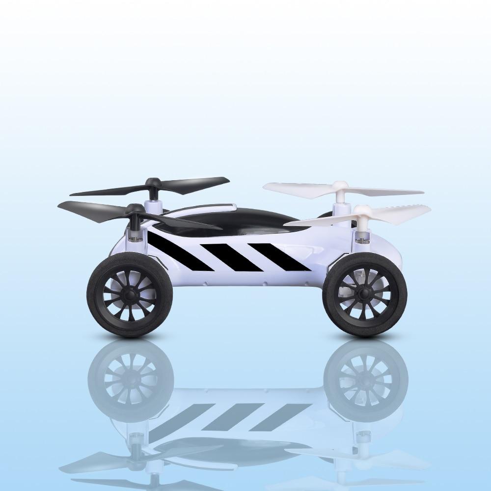 FPV Air-Route Double Mode RC Voiture Volante avec WiFI Caméra 2.4G 4CH Sans Tête Mode 360 Degrés Pour cadeau
