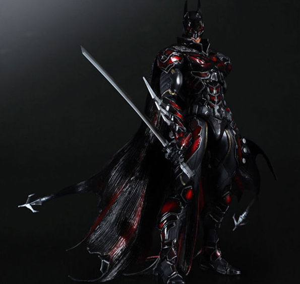 Superhero The Dark Knight Batman Variant Play Arts Kai Batman PVC Action Figure Collectible Model Kids Toys Doll 159 playarts kai batman arkham knight batman blue limited ver brinquedos pvc action figure collectible model doll kids toys 28cm